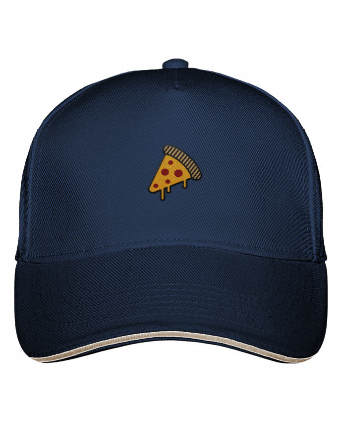 Casquette 5 Panneaux Ultimate Pizza slice par tunetoo