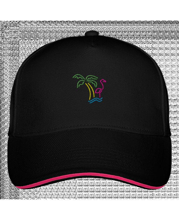 Casquette 5 Panneaux Ultimate Island Flamingo par tunetoo