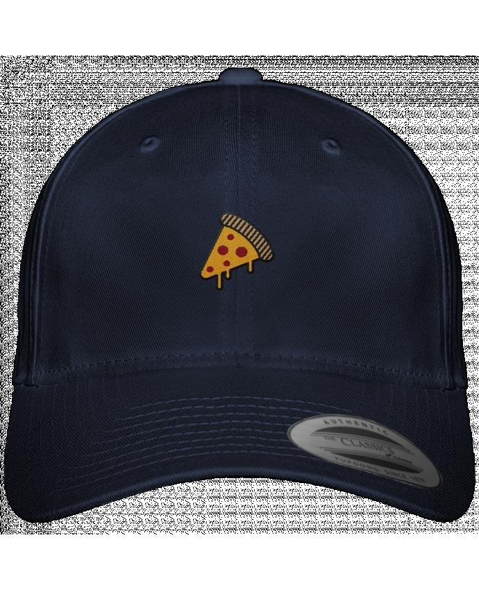 Casquette 6 panneaux Baseball Classique Strap Back Pizza slice par tunetoo