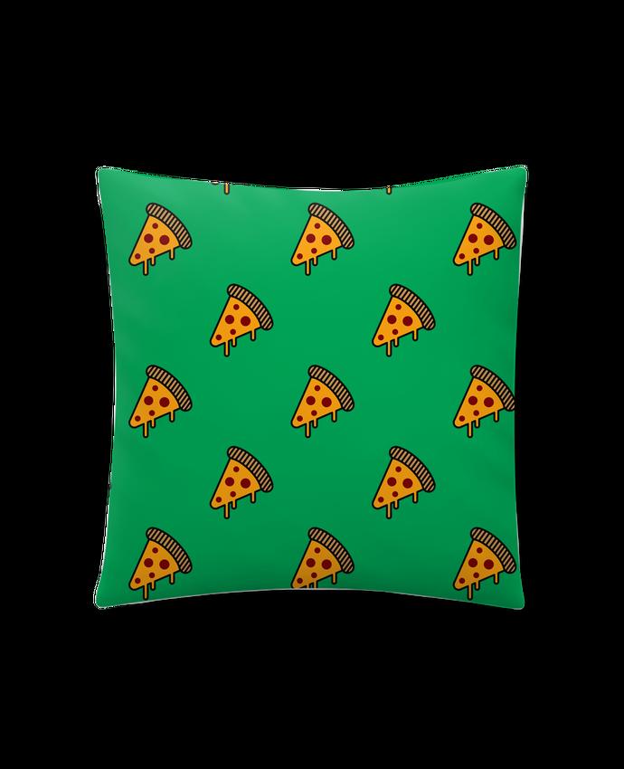 Coussin Synthétique Doux 41 x 41 cm Pizza slice par tunetoo