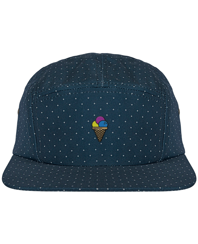 Casquette 5 Panel à Pois Ice cream par tunetoo