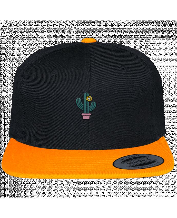 Casquette Snapback Bicolore Varsity Cactus par tunetoo