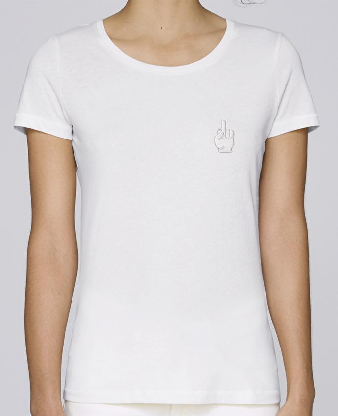 T-shirt  Femme Brodé Fuck par tunetoo