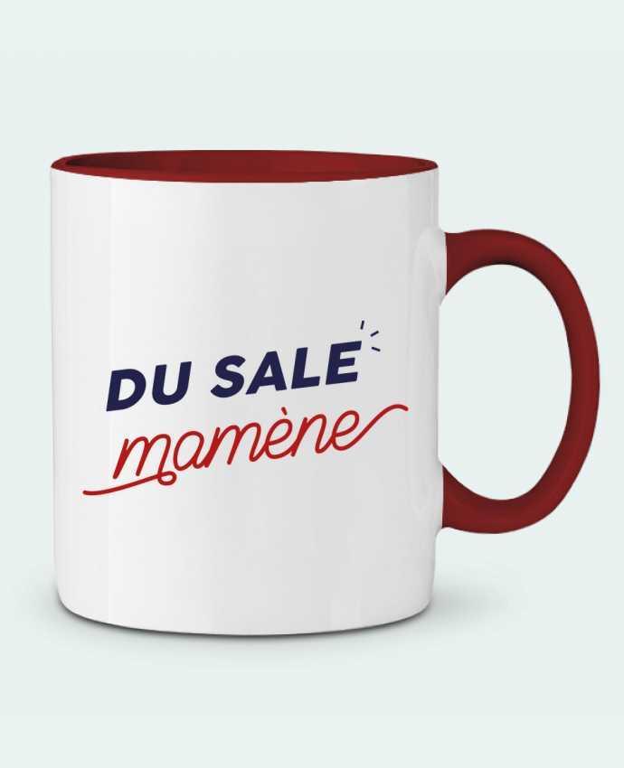 Mug en Céramique Bicolore du sale mamène by Ruuud Ruuud