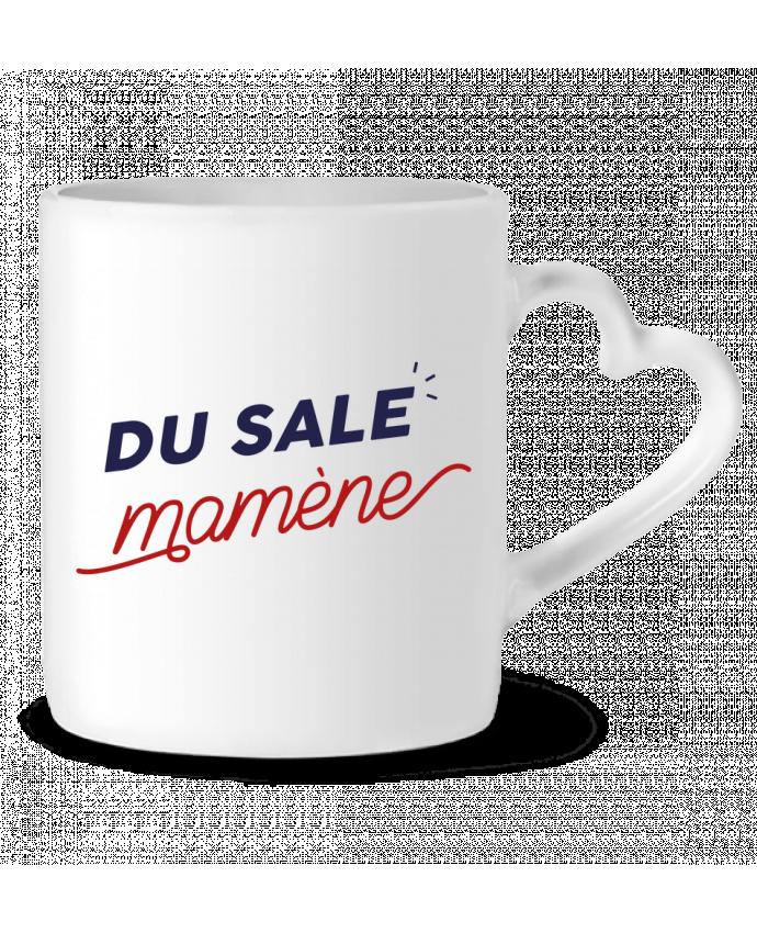 Mug coeur du sale mamène by Ruuud par Ruuud