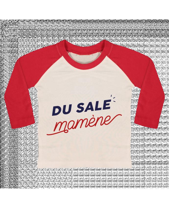 Tee-shirt Bébé Baseball ML du sale mamène by Ruuud par Ruuud