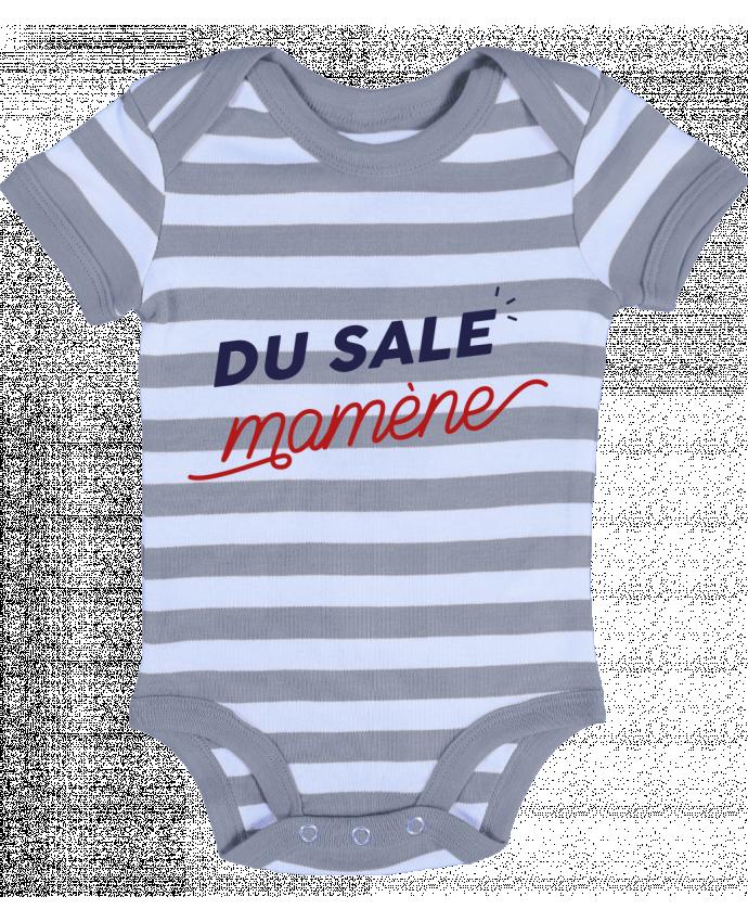 Body Bébé à Rayures du sale mamène by Ruuud - Ruuud