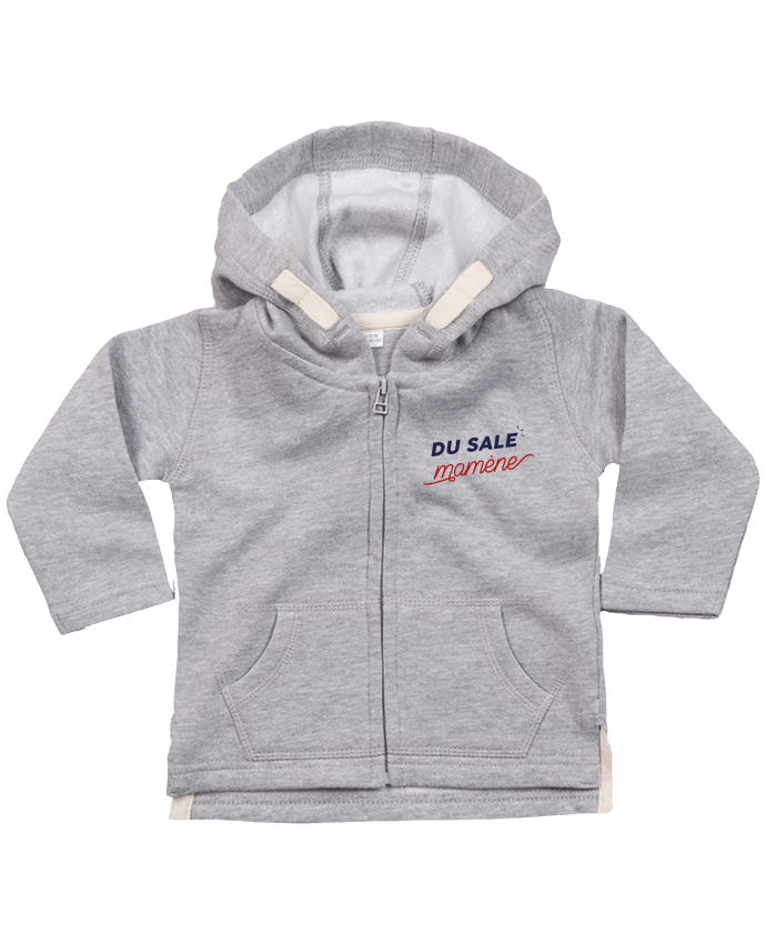 Sweat Bébé Zippé à Capuche du sale mamène by Ruuud par Ruuud