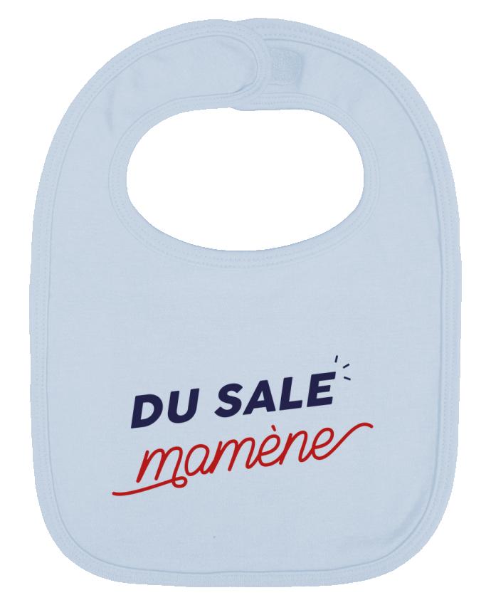 Bavoir Uni et Contrasté du sale mamène by Ruuud par Ruuud