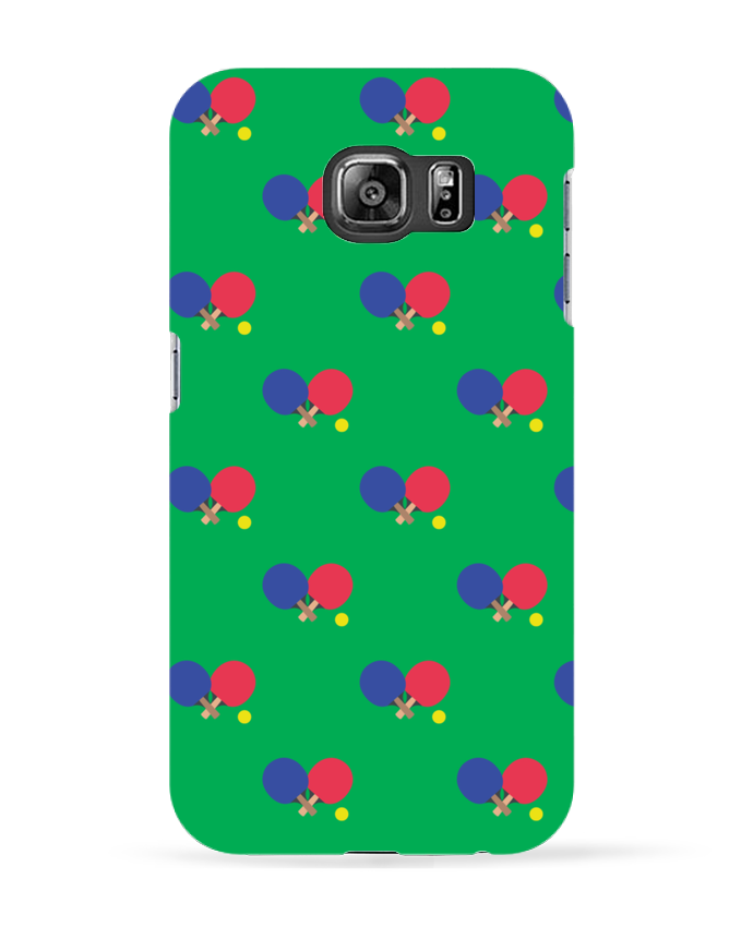 Coque 3D Samsung Galaxy S6 Ping Pong - tunetoo