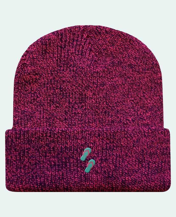 Bonnet Revers Beanie Héritage Tongues par tunetoo