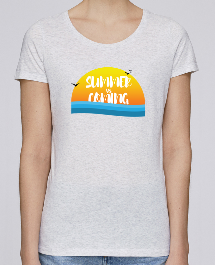 T-shirt Femme Stella Loves Summer is coming par tunetoo