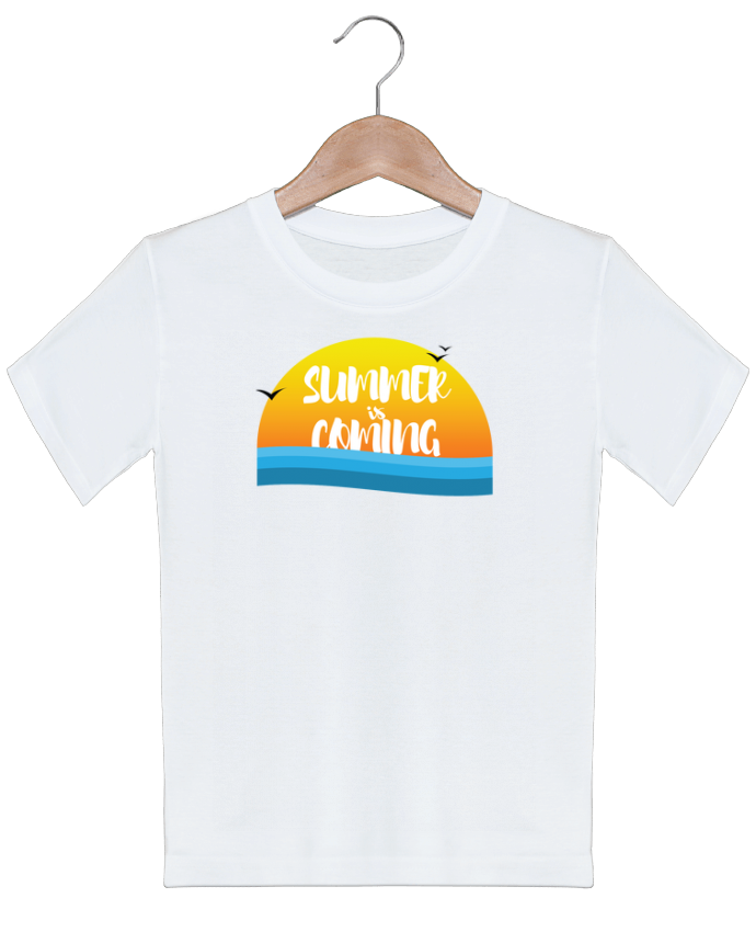 T-shirt garçon motif Summer is coming tunetoo