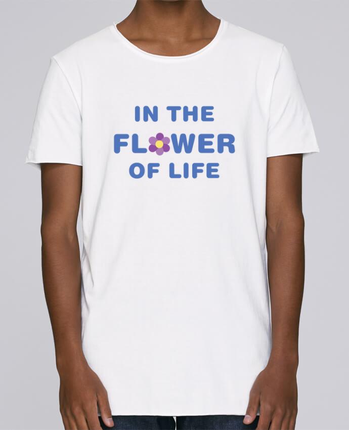T-shirt Homme Oversized Stanley Skates In the flower of life par tunetoo