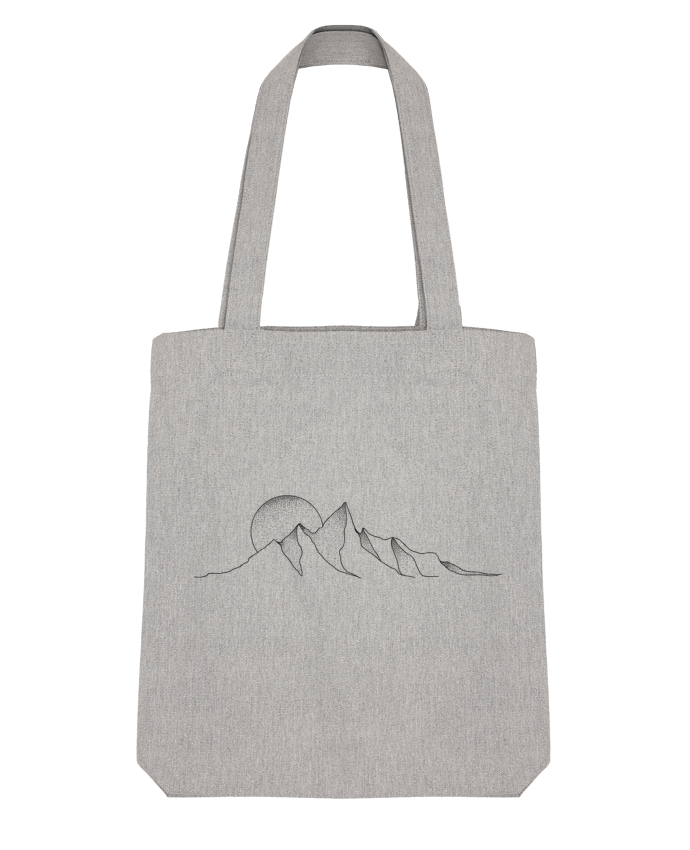 Tote Bag Stanley Stella mountain draw par /wait-design