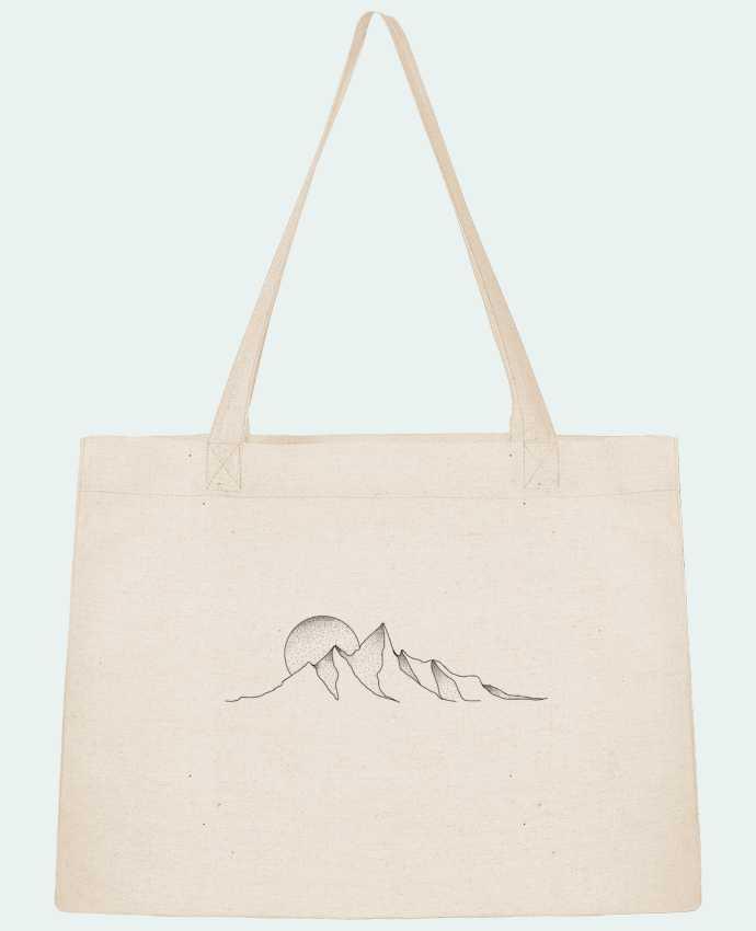 Sac Cabas Shopping Stanley Stella mountain draw par /wait-design
