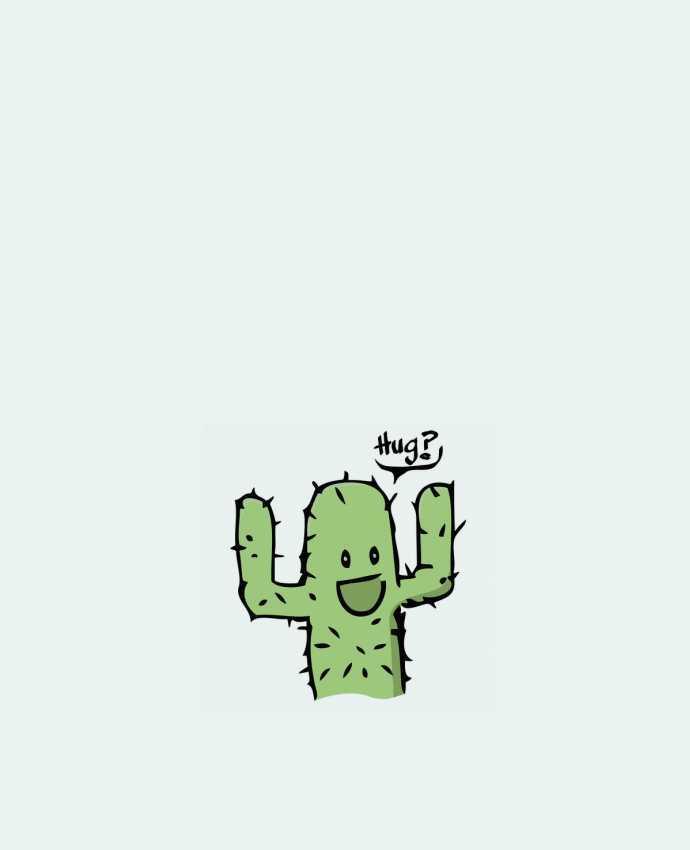 Sac en Toile Coton cactus calin gratuit par Tête Au Carré