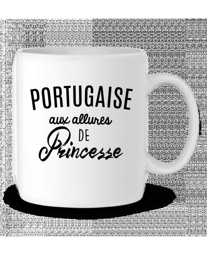 Mug en Céramique Portugaise aux allures de Princesse par LPMDL