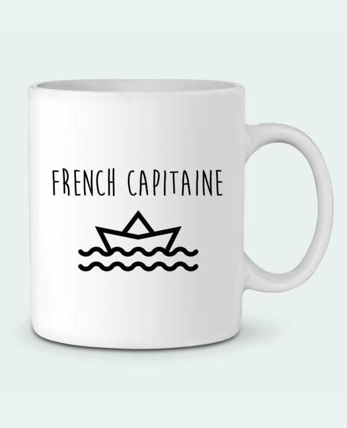 Mug en Céramique French capitaine par Ruuud