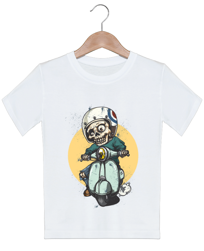 T-shirt garçon motif art design omgraphiste
