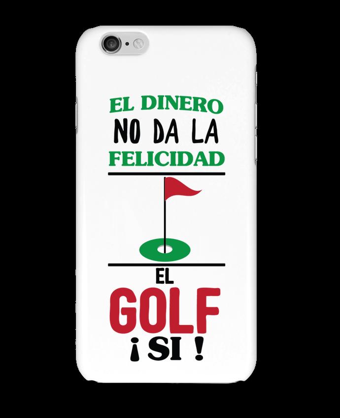 Coque iPhone 6 El dinero no da la felicidad, el golf si ! par tunetoo