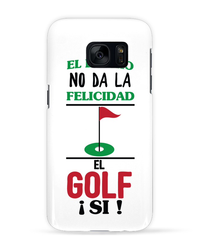 Coque 3D Samsung Galaxy S7 El dinero no da la felicidad, el golf si ! par tunetoo