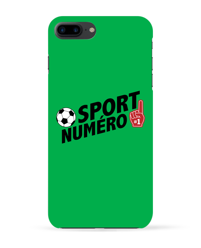 Coque 3D Iphone 7+ Sport numéro 1 Football par tunetoo