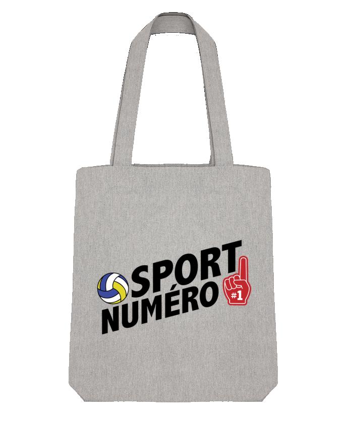 Tote Bag Stanley Stella Sport numéro 1 Volley par tunetoo