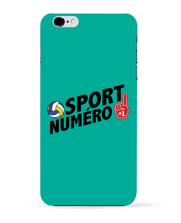 Coque 3D Iphone 6+ Sport numéro 1 Volley de tunetoo
