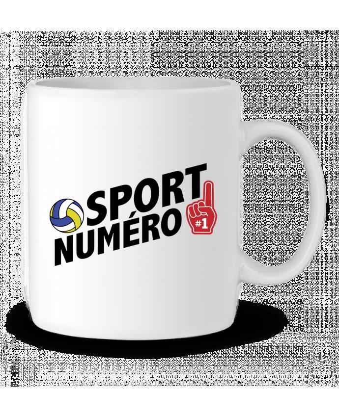 Mug en Céramique Sport numéro 1 Volley par tunetoo