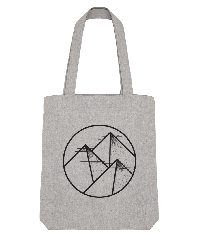 Tote Bag Stanley Stella montagne - graphique par /wait-design