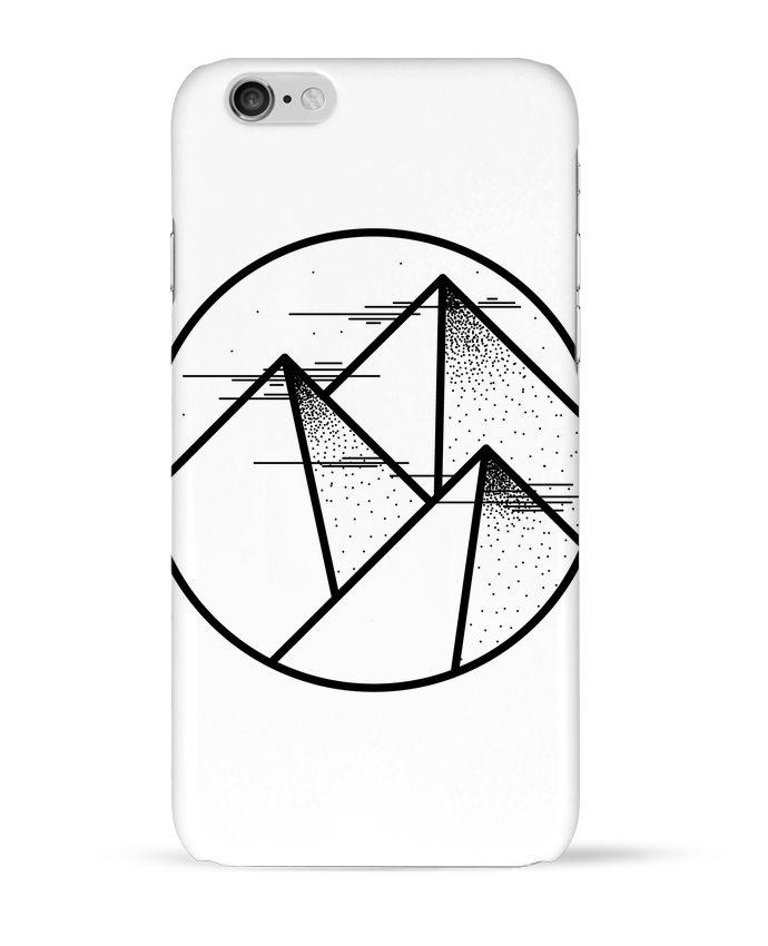 Coque 3D Iphone 6 montagne - graphique par /wait-design