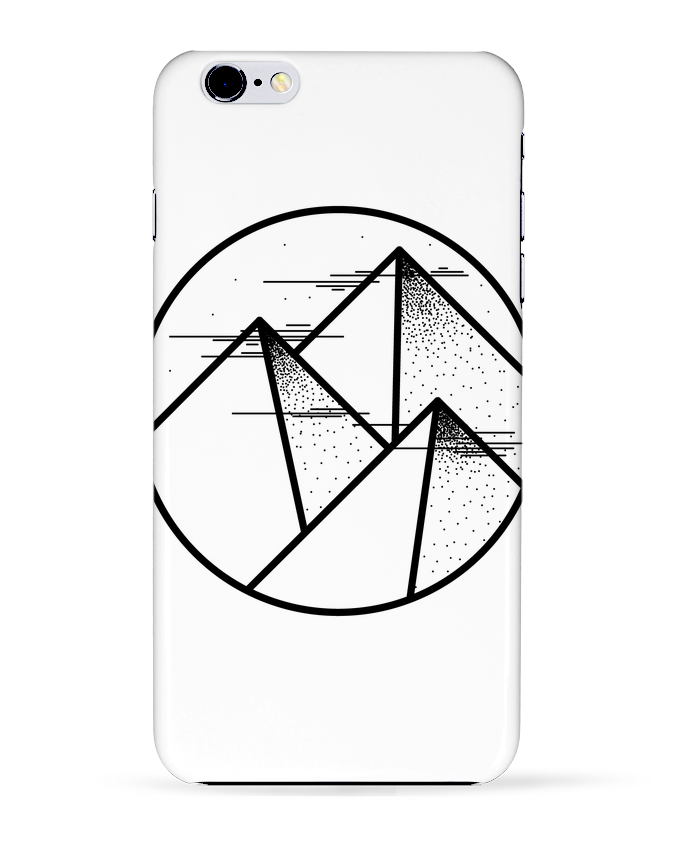 Coque 3D Iphone 6+ montagne - graphique de /wait-design
