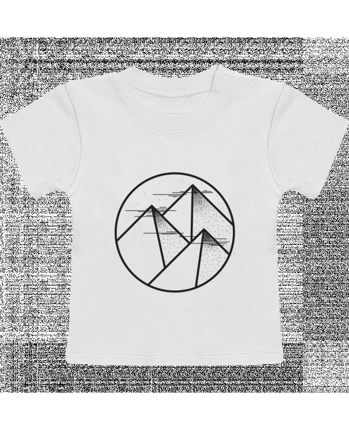 T-Shirt Bébé Manches Courtes montagne - graphique manches courtes du designer /wait-design