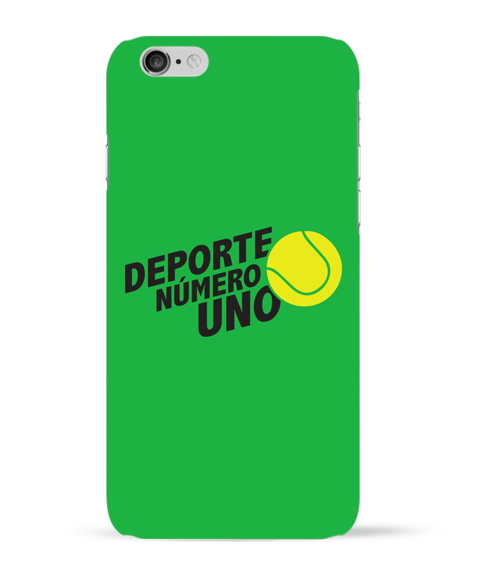 Coque 3D Iphone 6 Deporte Número Uno Tennis par tunetoo