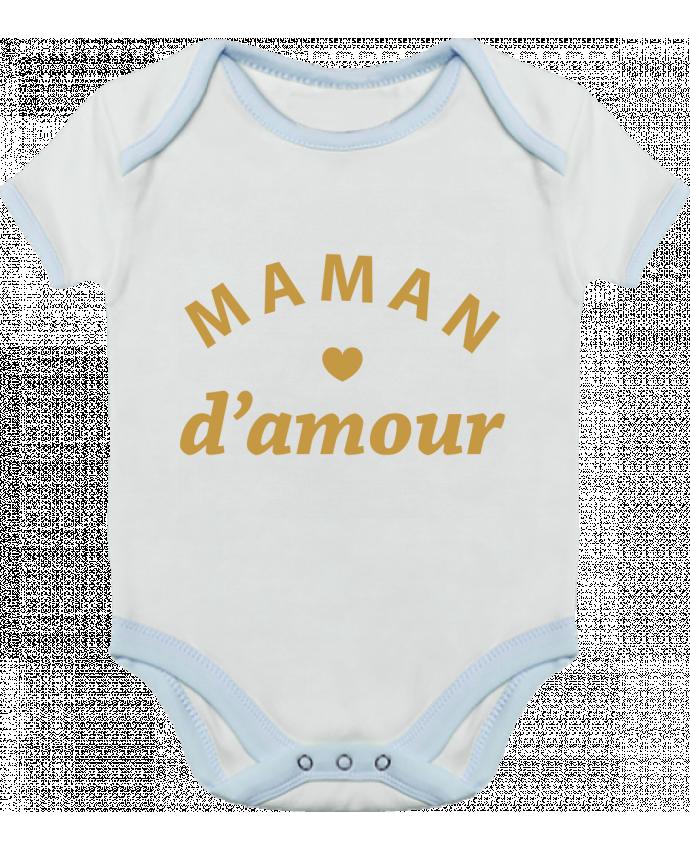 Body Bébé Contrasté Maman d'amour par arsen