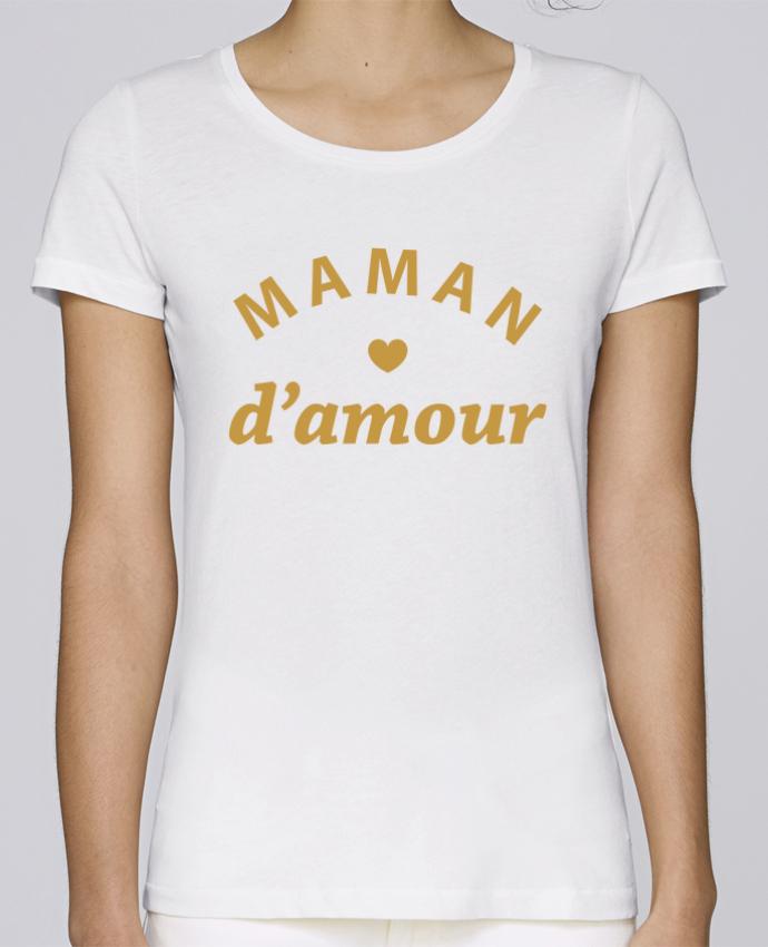 T-shirt Femme Stella Loves Maman d'amour par arsen
