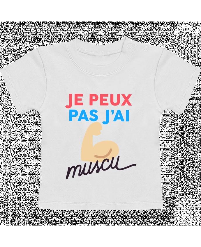 T-Shirt Bébé Manches Courtes je peux pas j'ai muscu manches courtes du designer Ruuud
