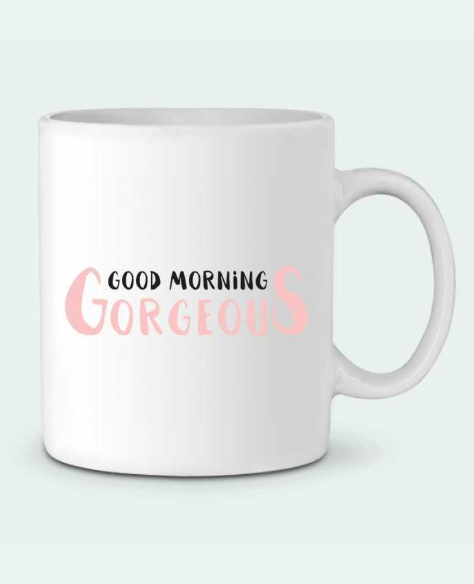 Mug en Céramique Good morning gorgeous par tunetoo
