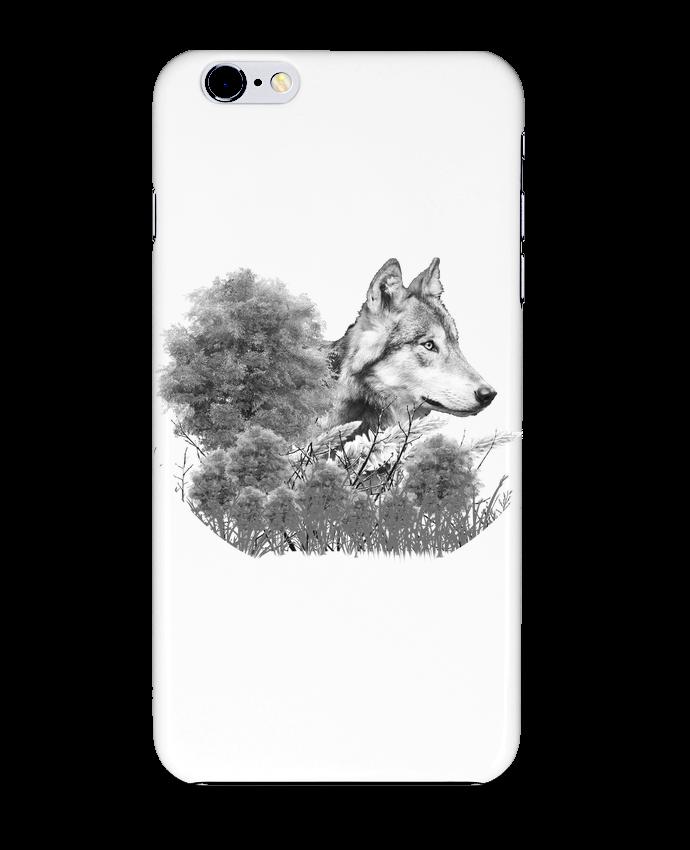 coque loup blanc iphone 6