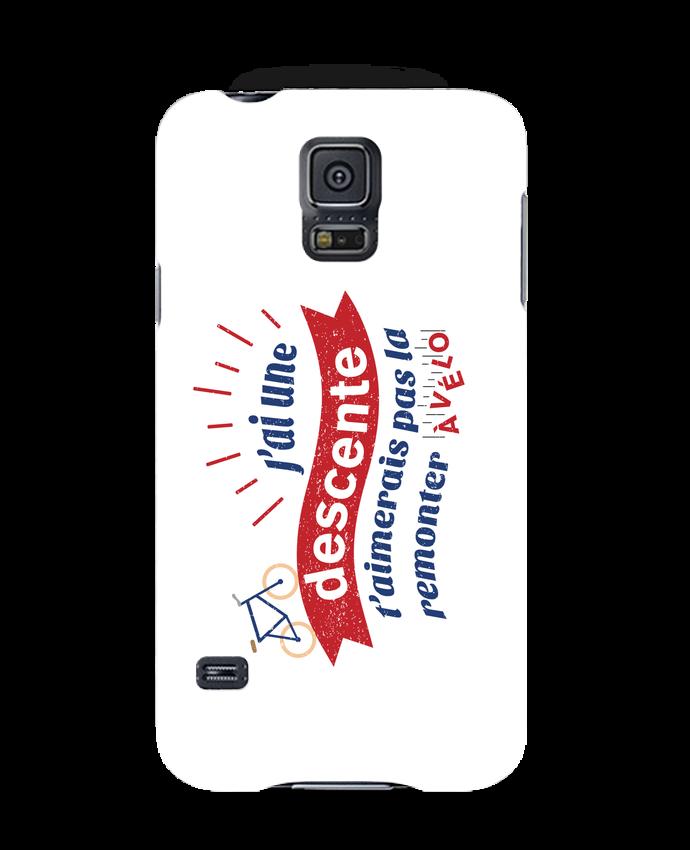 Coque 3D Samsung Galaxy S5 J'ai une descente t'aimerais pas la remonter à vélo par tunetoo
