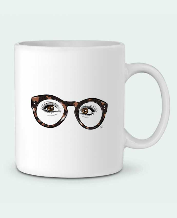 Mug en Céramique Printcess I par Studio Tix