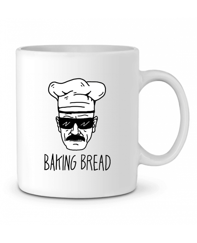 Mug en Céramique Baking bread par Nick cocozza
