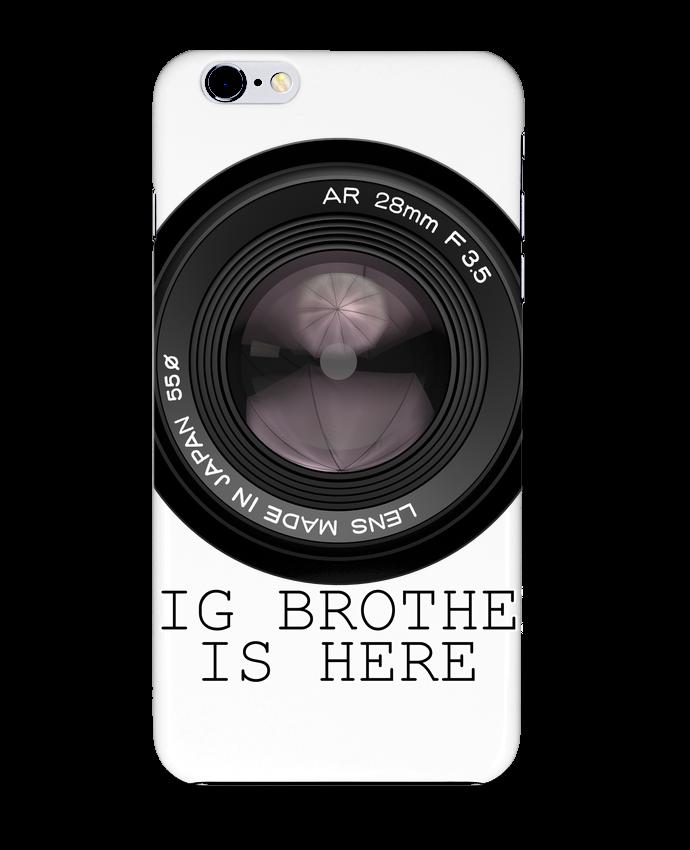 coque objectif iphone 6 plus