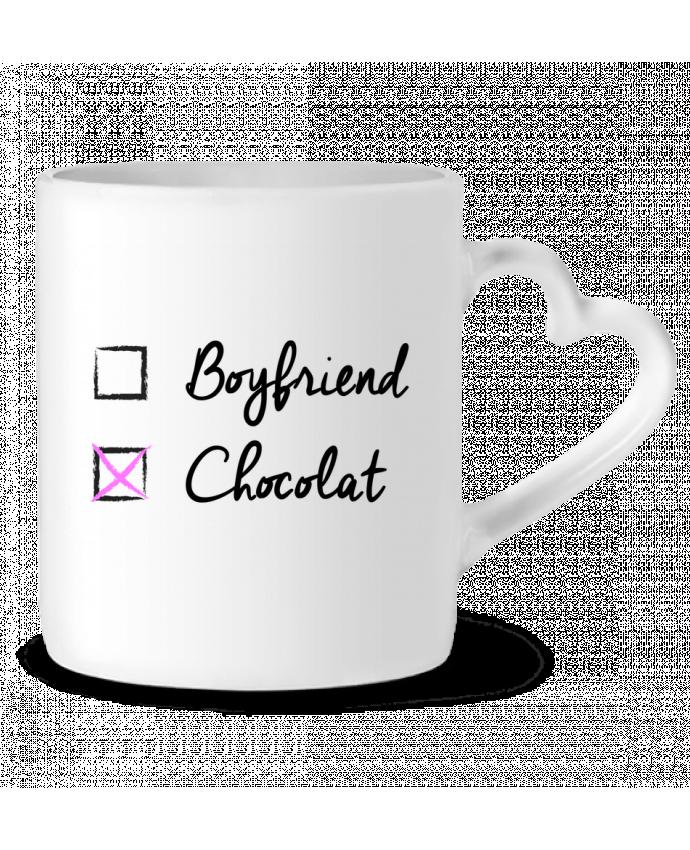 Mug Coeur Boyfriend X Chocolat par tunetoo