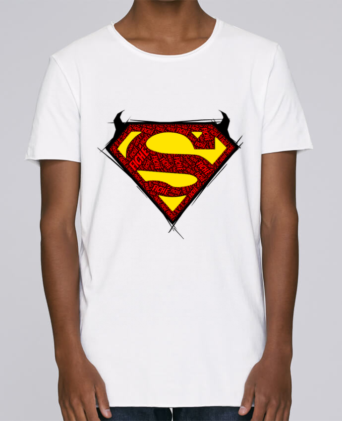 T-shirt Homme Oversized Stanley Skates Super Fiché par Dontuch