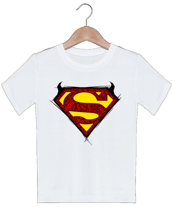 T-shirt garçon motif Super Fiché Dontuch