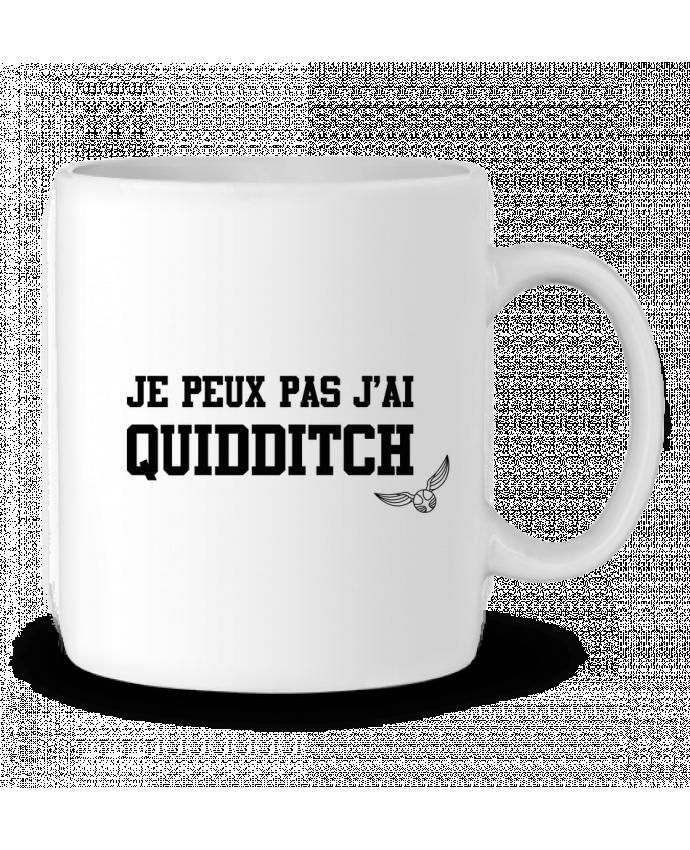 Mug en Céramique Je peux pas j'ai quidditch par tunetoo