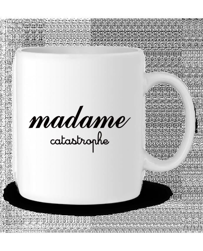 Mug en Céramique Madame Catastrophe par Freeyourshirt.com