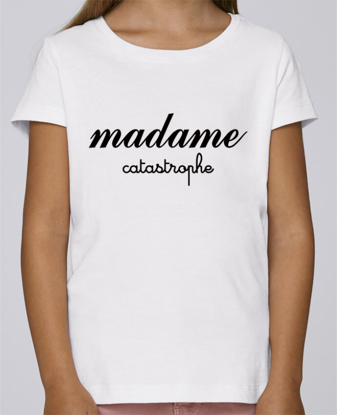 T-shirt Fille Mini Stella Draws Madame Catastrophe par Freeyourshirt.com
